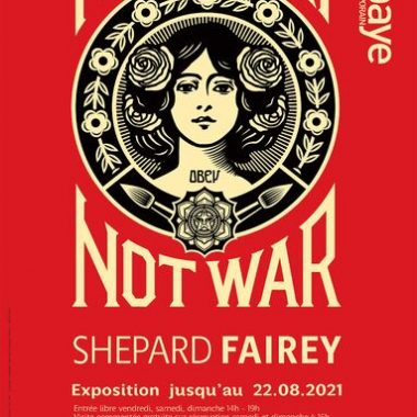Annecy Abbaye Shepard Fairey Obey