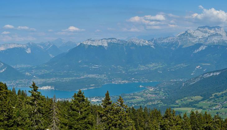Vue panoramique depuis le Semnoz