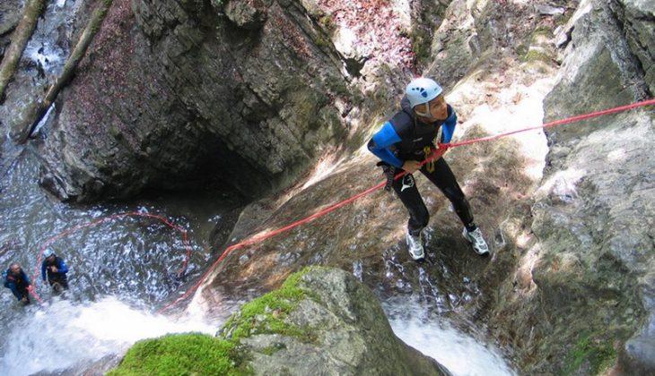 Canyoning-Monté-Médio-lac-Annecy