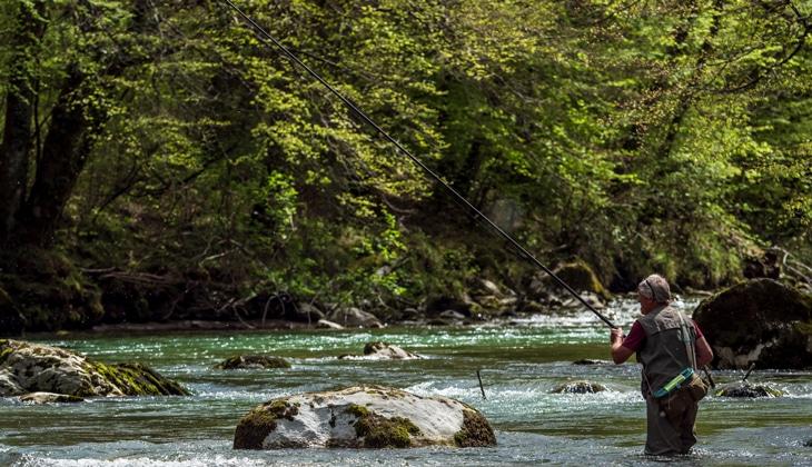 Pêche au Chéran