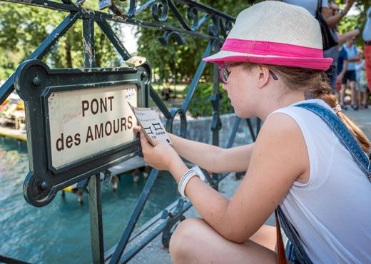 Chasse au trésor à Annecy