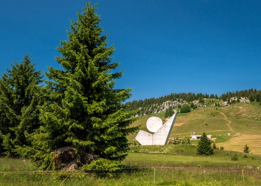 Le Plateau des Glières et le Monument National de la Résistance