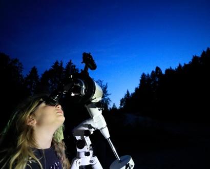 Observation des étoiles en Pays de Fillière