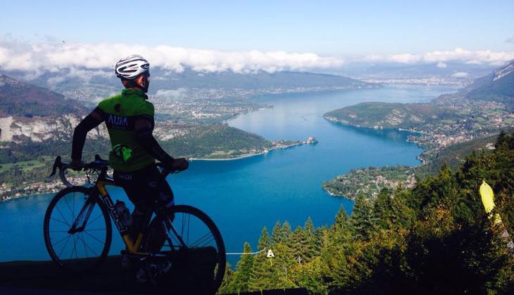 Vélo au Col de la Forclaz