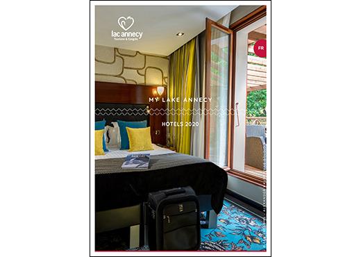 Couverture brochure hotels