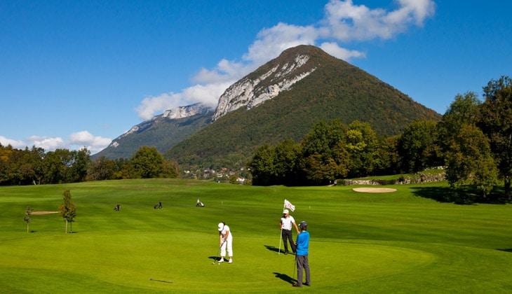 Parcours de golf à Talloires-Montmin