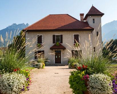 La mairie de Duingt