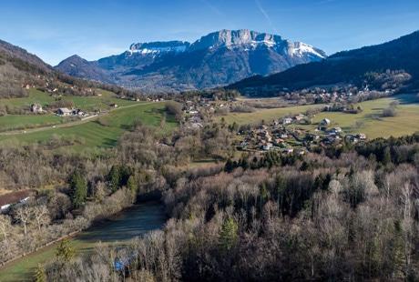 Le Col de Bluffy et le Parmelan