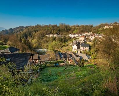Le village d'Alby-sur-Chéran