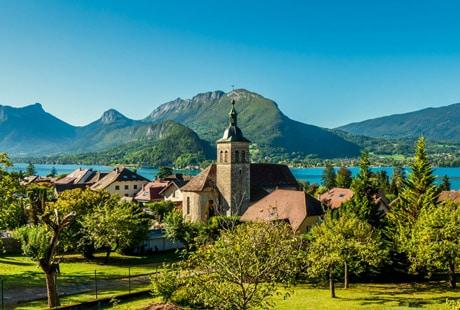 Le village de Talloires-Montmin
