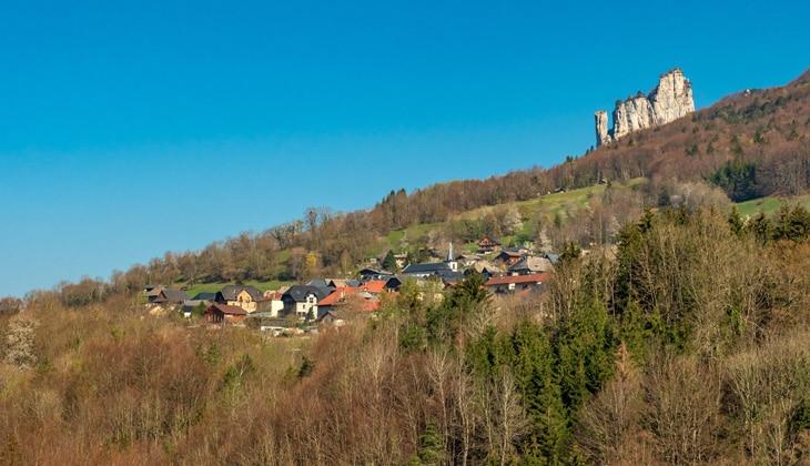 Le village d'Allèves