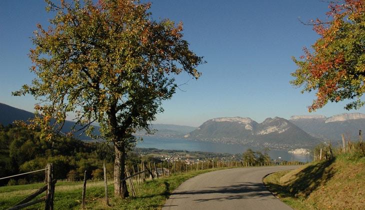 Sur la route de Saint-Eustache