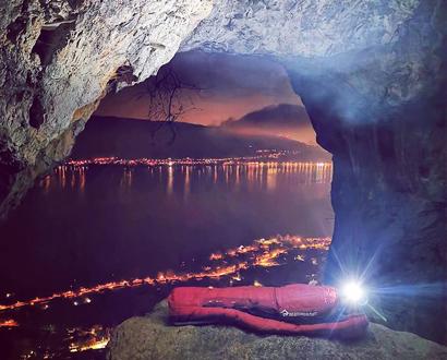 Bivouac au-dessus du lac d'Annecy