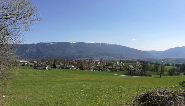 Le village de Chapeiry