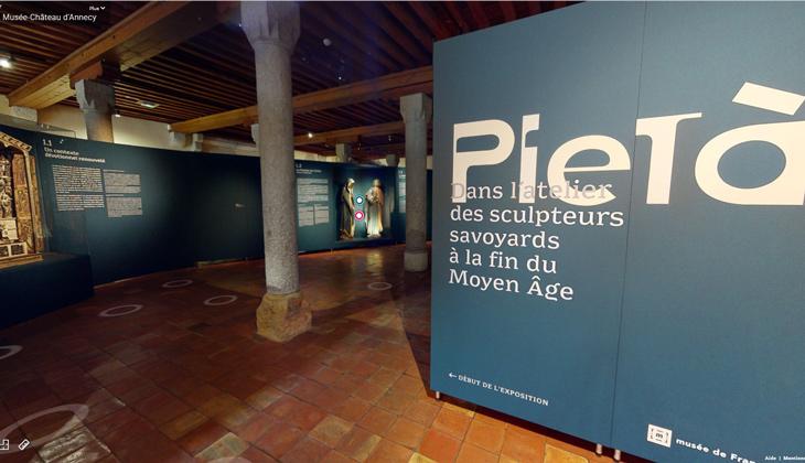 Visite virtuelle au Musée-Château d'Annecy - Exposition Pietà