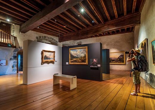 Salles Beaux-Arts paysages au Musée-Château d'Annecy