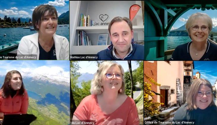 Facebook Live du lac d'Annecy