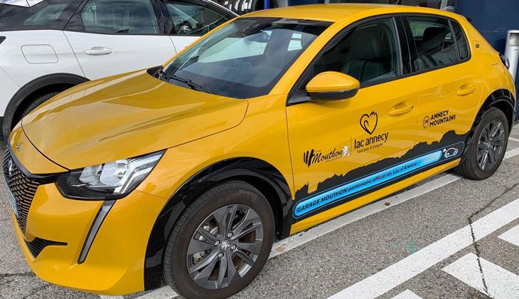 Garage Mouthon Peugeot e-208 électrique