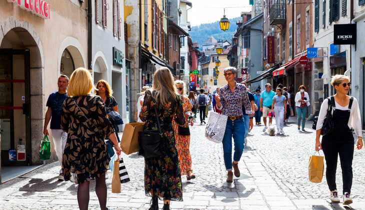 Shopping à Annecy