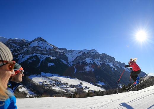 Sports d'hiver à la Station de ski de Montmin - Talloires